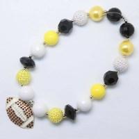 Football Theme Bubble Gum Necklace