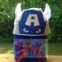 Super Hero Hooded Towels