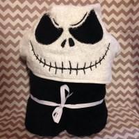 Jack or Sally Hooded Towel