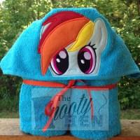 Pony Hooded Towel
