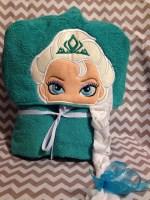 Princess Hooded Towel